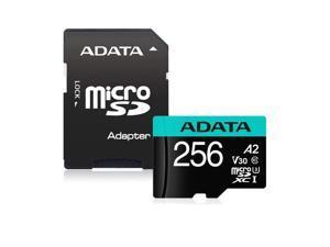 A-DATA AUSDX256GUI3V30SA2-RA1 ADATA 256G MICROSDXC UHS-I U3 CLASS 10