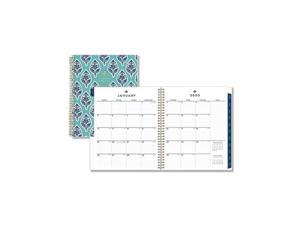 Sullana Monthly Planner, 10 x 8, Teal Cover, 2021 116046