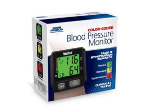JOBAR INTERNATIONAL JB8149 AMERICAN JB8149 BLACK COLOR CODE SLIM WRIST BLOOD PRESSURE