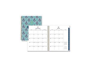 Sullana Weekly/Monthly Planner, 11 x 8.5, Teal Cover, 2021 110569