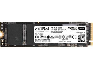 MICRON CT500P1SSD8 Crucial P1 500GB M.2 2280 PCI-Express 3.0 Solid State Drive (Micron 3D QLC NAND)