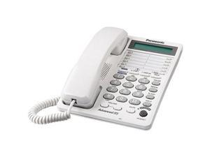 PANASONIC KX-TS208W Same as KX-TS108W but adds 2-Line Operation  and  3-Way Conferencing