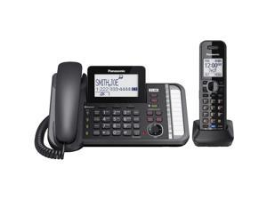 PANASONIC KX-TG9581 Link2Cell DECT 6.0 1-Handset 2-Line digital cordless phone w/ answ mach