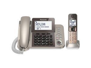 PANASONIC KX-TGF350N DECT 6.0 corded cordless digital phone with answering machine
