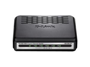 D-LINK GO-SW-5G GO-SW-5G 5PORT UNMANAGED 10/100/1000 GBE ENET STANDALONE SW