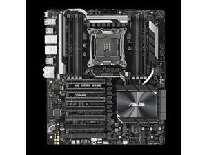 ASUS WS X299 SAGE Asus WS X299 SAGE LGA2066/ Intel X299/ DDR4/ 4-Way CrossFireX  and  4-Way SLI/ SATA3 and USB3.1/ M.2 and U.2/ A and 2GbE/ CEB Motherboard