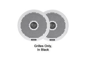 """FUSION FUS-010-01646-00 Pair of Black Grilles, 6"""", MS-FR6021"""