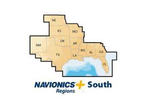 NAVIONICS NAV-MSDNAVSO Navionics+ South, MSD, Lakes  and  Coast