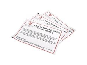 """DATAMAX IQ-4X6 CONSUMABLE  PRINTHEAD CLEANING CARD  4"""" X 6""""  STATIONARY - M/I/H CLASS COMPATIBLE  25 CARDS PER CASE  PRICED PER CASE"""