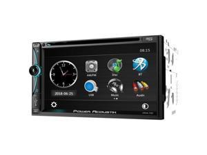 POWER ACOUSTIK CPAA-70D POWERACOUSTIK 2DIN 7IN DVD SOURCE UNIT CARPLAY, A-AUTO