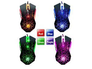 WFIRST X900-M 8D 3600DPI TARRASQUE GLARE Molten 6 Buttons High-End Professional Gaming Mouse
