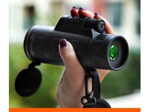 PANDA 40X60 Focus Zoom Portable Travel HD OPTICS BK4 Monocular Telescope