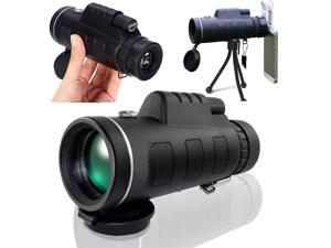 UrChoiceLtd® PANDA 40x60 Compass Monocular HD Telescope Spotting Scope Dual Focus Optical Prism  Night Vision Tourism Scope Zoom Binoculars For Sky Gazers with Free Tripod & Mobile Phone Bracket