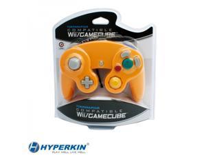 Wii/ GameCube Wired Controller (Orange) - CirKa
