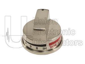 LG EBZ37189609 Stainless Steel Burner Knob