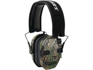 Walker's Game Ear GWP-RSEQM-CMO Razor Series Slim Realtree Xtra Electronic Quad Muff