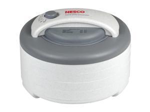 Nesco FD-61 Food Dehydrator - 4 Trays & Fruit Roll Sheet - NO SPICES