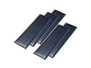 5Pcs 5.5V Poly Mini Solar Cell Panel Module DIY for Phone Toys Charger 90mmx30mm