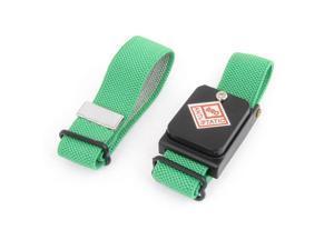 Unique Bargains Green Cordless Wireless Anti Static ESD Discharge Wristband Wrist Strap