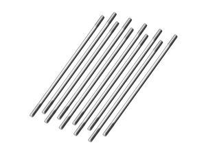 M3x100mm Pushrod Connector Stainless Steel Rod Linkage,for RC Boat,Car,Airplane,Helicopter,10pcs