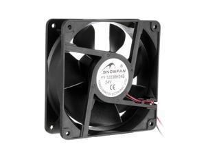 120mm x 38mm 24V DC Industrial Cooling Fan, 235 CFM High Airflow