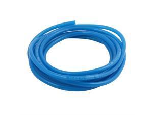 4mm x 6mm Flexible Pneumatic Polyurethane PU Hose Pipe Tube Blue 10Ft Length