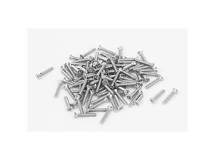 Unique Bargains M2x12mm 304 Stainless Steel Phillips Flat Countersunk Head Machine Screws 100pcs
