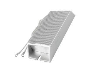 Unique Bargains 200W 200 ohm Silver Tone Aluminum Housed Wire Wound Resistor