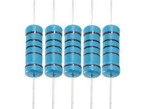 100 x 1K Ohm 3W 1% Five Color Bands Metal Film Resistors