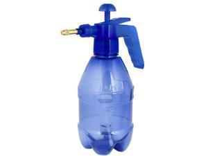 Unique Bargains Brass Nozzle 1.5L 1500ml Capacity Garden Chemical Spray Bottle Clear Blue