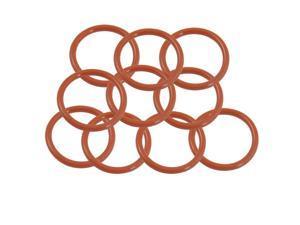 Unique Bargains 34mm x 28mm x 4mm Flexible Nitrile Rubber O Ring Oil Seal Gaskets 10 Pcs