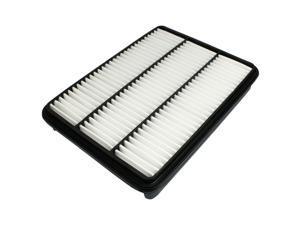 Unique Bargains Black White Pleated Paper Air Filter for Lexus GX470 LX470