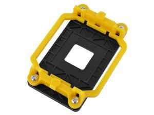 Unique BargainsPlastic AM2 AM3 FM1 FM2 FM2+ Socket CPU Fan Cooler Base Bracket Holder Yellow