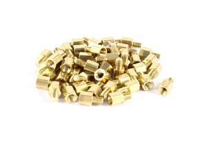 Unique Bargains 50 Pcs PCB Motherboard Standoff Hex Spacer Screw Nut M3 Male 4mm to Female 5mm