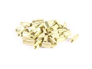 Unique Bargains 30 Pcs PCB Motherboard Standoff Hex Spacer Screw Nut M3 Male 4mm to Female 8mm