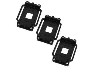 3pcs AM2 AM3 FM1 FM2 FM2+ Plastic AMD CPU Cooling Fan Bracket Base Black