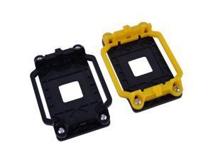 2pcs ADM AM2 AM3 FM1 FM2 FM2+ CPU Cooler Fan Retainer Bracket Black Yellow