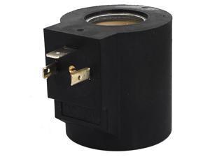 Global Bargains Replacement DC 24V 23mm Dia Pneumatic Control Solenoid Valve Coil Black