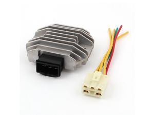 Gray 3 Pins Motorcycle Motorbike Rectifier Voltage Regulator SH538D-13