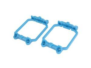 Unique Bargains 2 Pcs AMD CPU Fan Retention Bracket Single Module Base Blue for AM2 940 Socket
