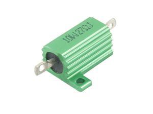 27 Ohm Screw Tap Mounted Aluminum Housed Wirewound Resistor 10W