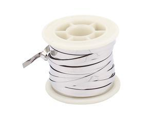 5M 16.4Ft 0.2x3mm Nichrome Flat Heater Wire for Heating Elements