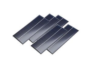 5Pcs 6V 250mA Poly Mini Solar Cell Panel Module DIY for Phone Light Toys Charger 165mm x 65mm