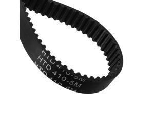Global Bargains HTD5M410 Rubber Timing Belt Synchronous Closed Loop Timing Belt Pulleys 15mm