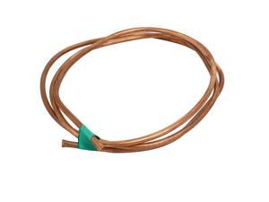 4mm Outer Dia 1.5M Length Refrigerator Copper Tube Coil Copper Tone