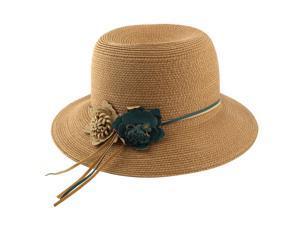 Compare. Ladies Straw Foldable Traveling Beach Cap Wide Brim ... de8f08114773