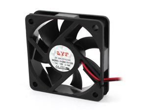 Global Bargains DC 12V 60mm PC Chassis Computer Case CPU Cooling Fan Cooler Black