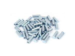 M6 x 30mm Carbon Steel Full Thread Clinch Stud Self Clinching Standoff 50PCS