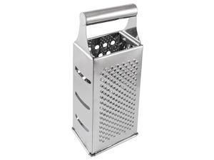 Unique Bargains Stainless Steel Handle 4 Sides Vegetable Potato Carrot Grater