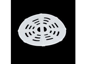20cm Dia Plastic Semi Automatic Washing Machine Spin Cap Cover White
